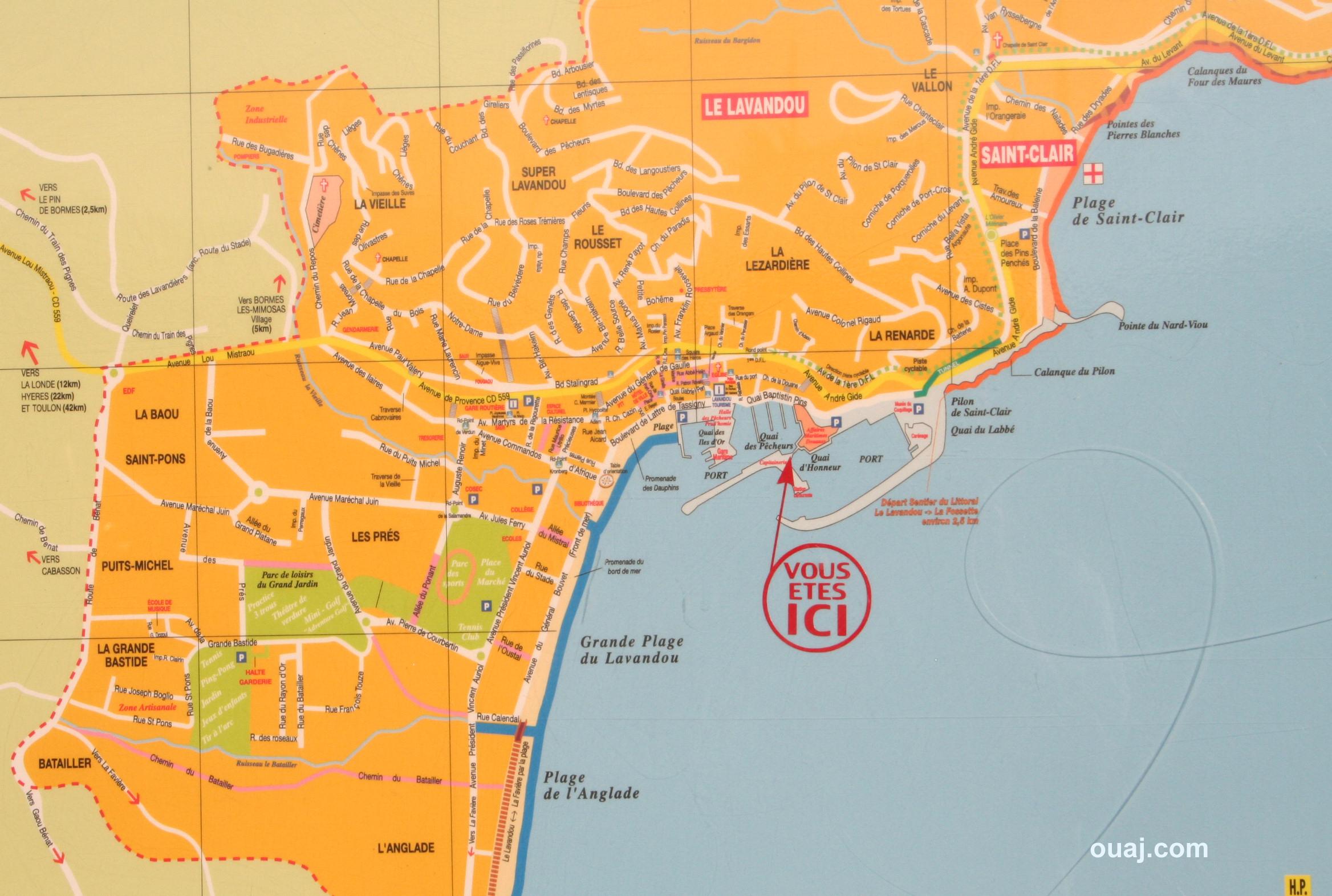 Lavandou voyage photo hotel du lavandou sur la cote d 39 azur for Recherche hotel sur carte