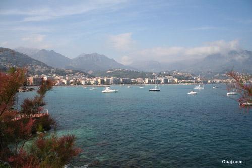 Cote d'Azur bord de mer
