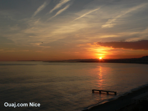 heure coucher soleil nice