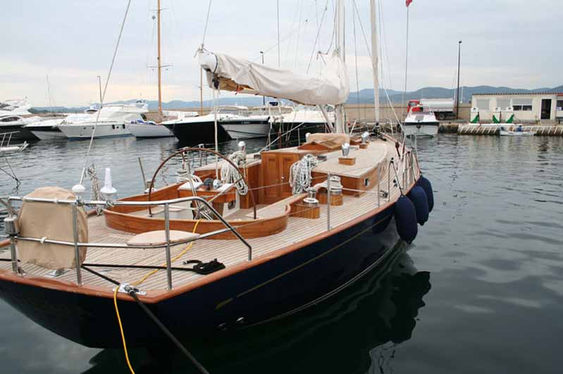 Joli bateau en bois Saint Tropez  Photo n°39 ~ Plan De Bateau En Bois