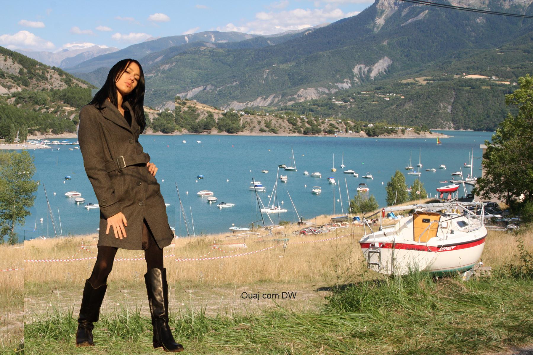Lac Serre Poncon : Ouaj.com le lac de serre ponçon hautes alpes photos du lac avec